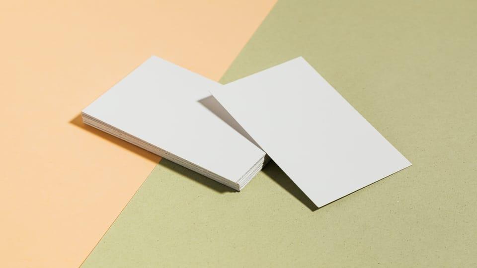 white-envelopes-yellow-green-background
